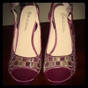 Wild Diva high heels